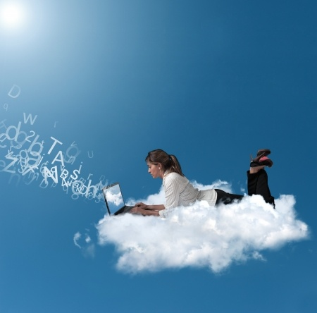 Image result for people in the clouds
